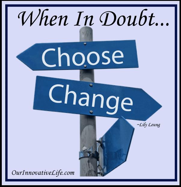 Choose Change Create!