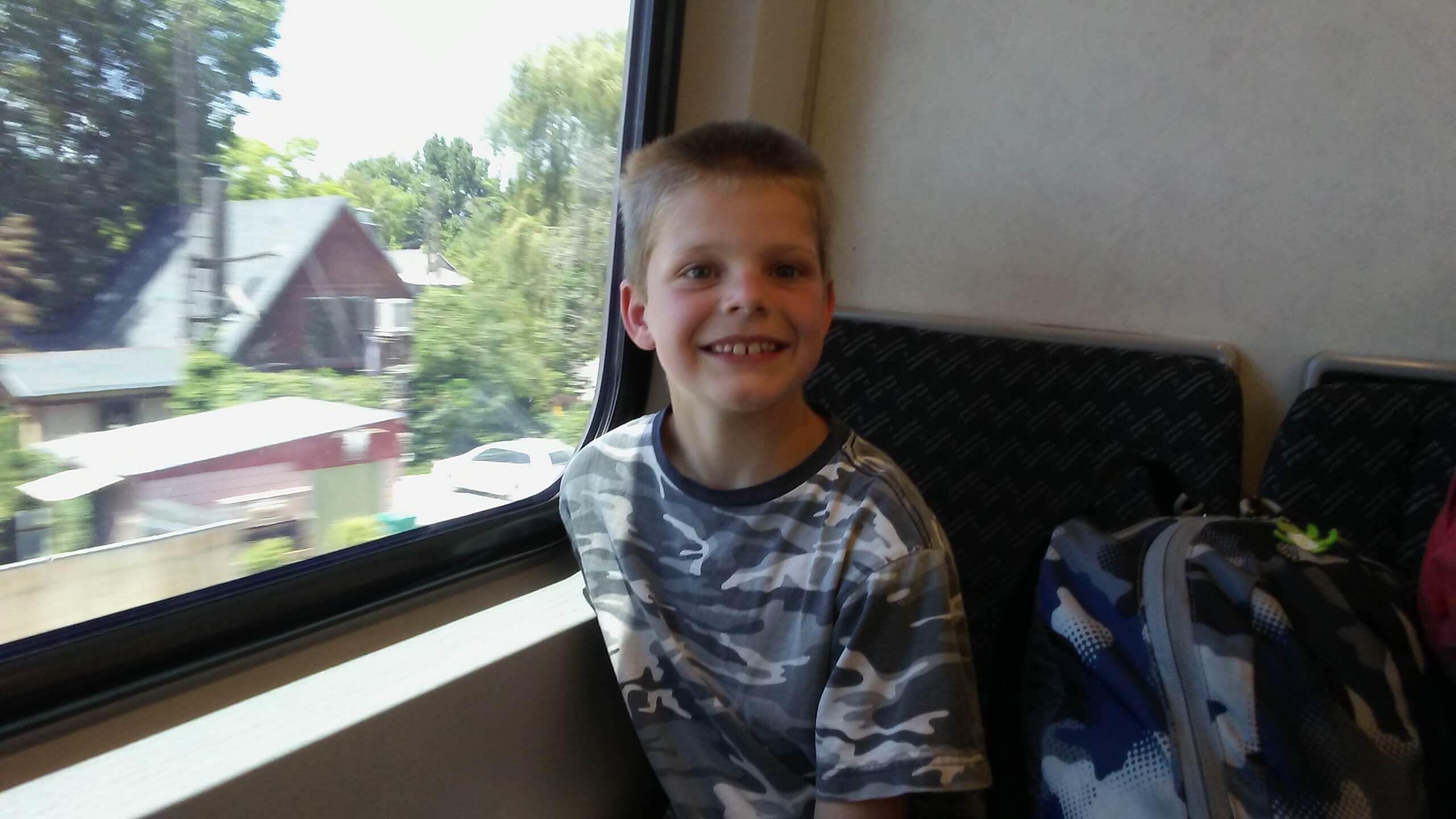 Little Man on FrontRunner
