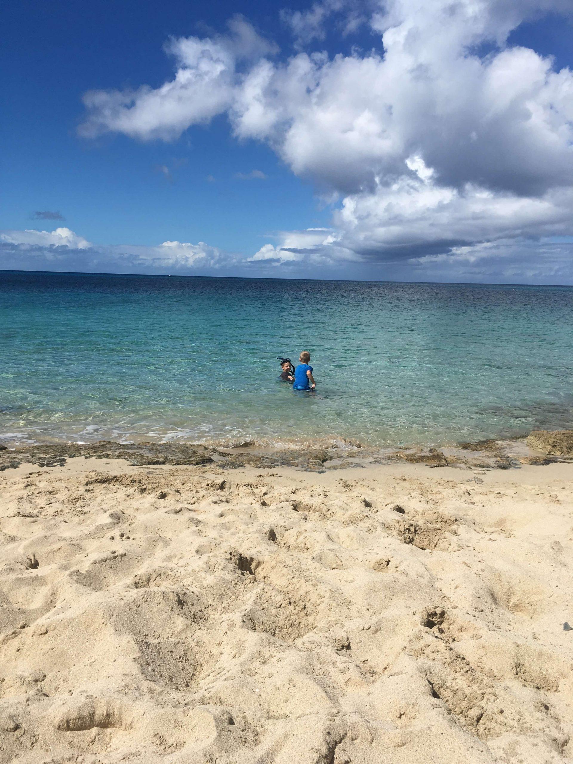 Boys at Dorsche Beach