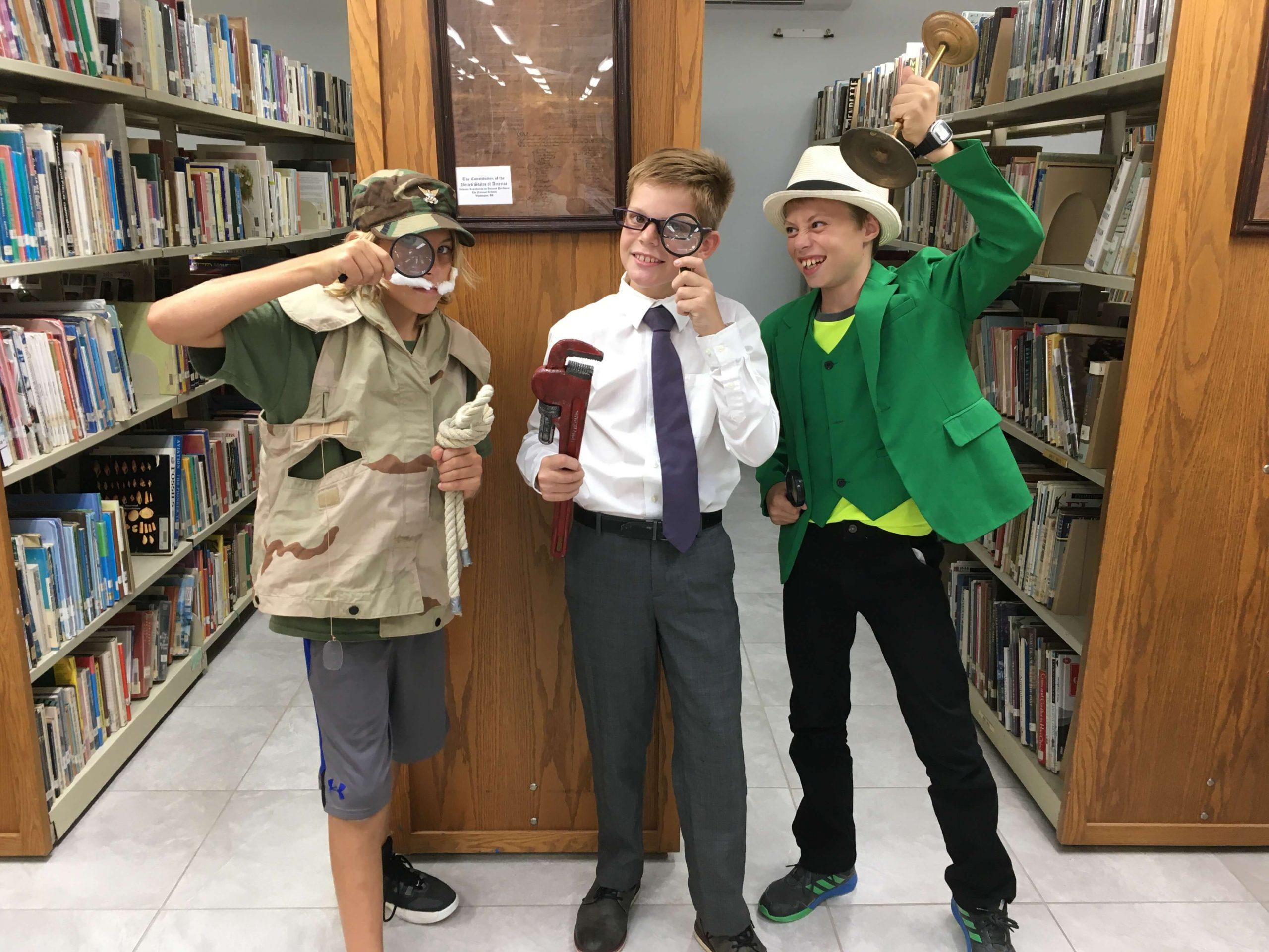 Miles' Clue Halloween Costume